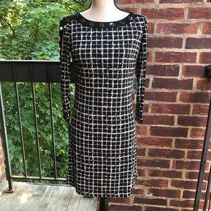 Rafaella Black & White Dress Size PXS
